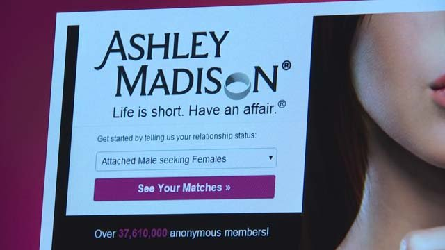 ashley madison hackers releases info millions users