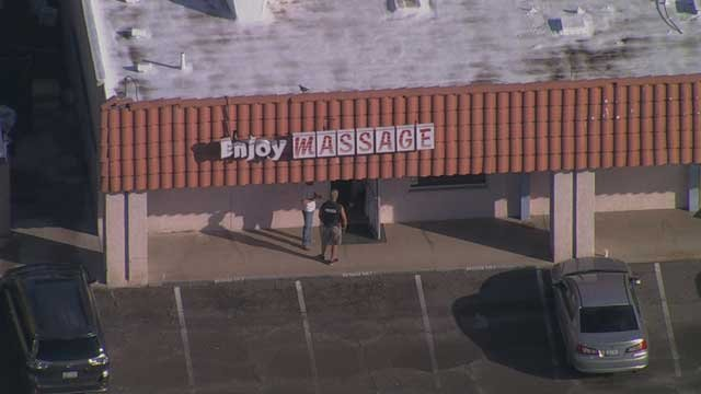 massage parlor asian surrounding mesa