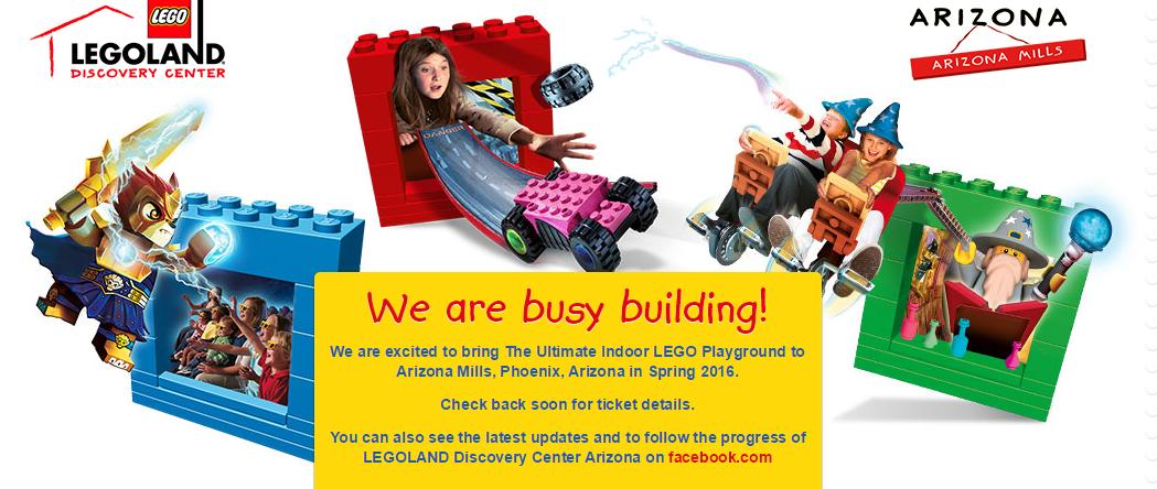 Legoland Discovery Center Arizona breaks ground - Arizona ...