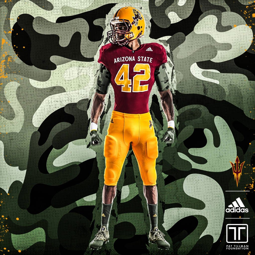 ASU Football Unveils New Pat Tillman Uniforms f0543ca63