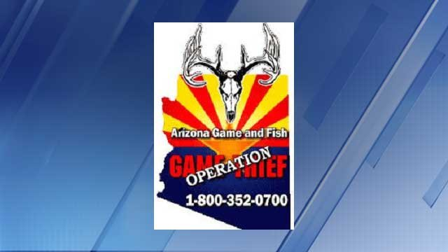 Arizona game and fish department offers reward in 39 thrill for Arizona fish and game
