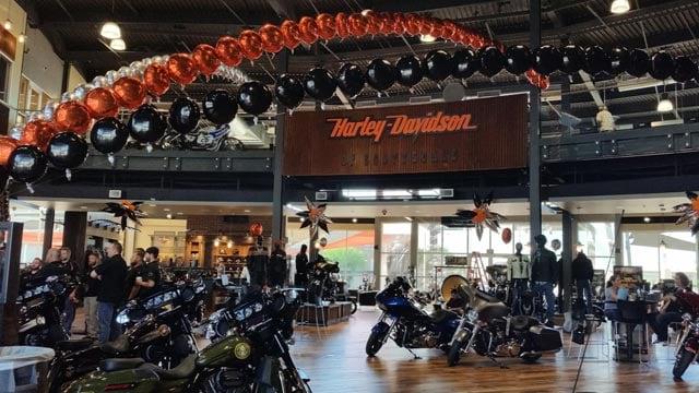 Grand opening of new harley davidson to benefit phoenix for Scottsdale harley davidson tattoo