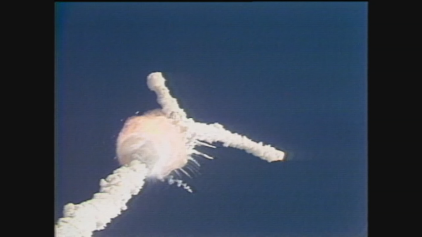 Seconds from disaster space shuttle challenger