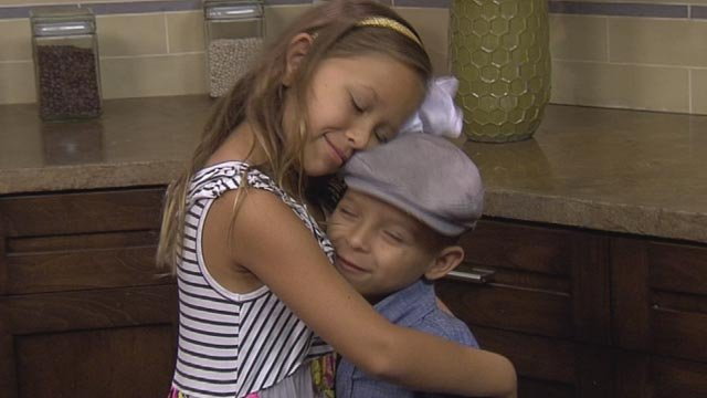 Chase's big sister, Emma, was the inspiration for Lock Boxes of Love. (Source: KPHO/KTVK)