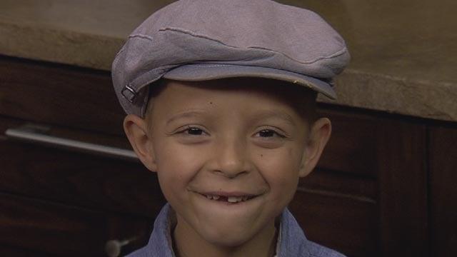 Healthier now, Chase still loves his Butterfinger shakes. (Source: KPHO/KTVK)